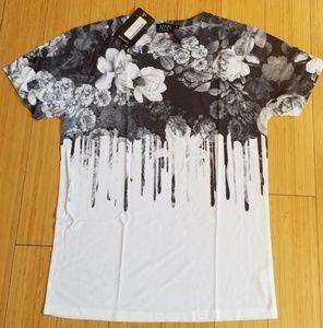 New Man's Boohoo Print Tee Shirt